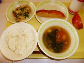 ご飯・豆腐の五目汁他